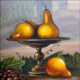 Pear by Angelica Di Chiara Ceramic Accent & Decor Tile