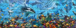Arctic Adventure by John Enright Ceramic Tile Mural BC-JE01