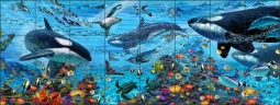 Arctic Vista by John Enright Ceramic Tile Mural BC-JE04