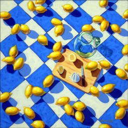 Life's Lemons by Beaman Cole Ceramic Accent & Decor Tile - BCA023AT
