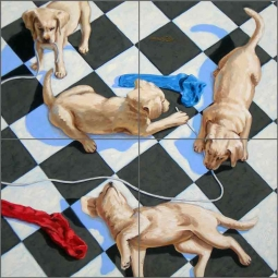 Play Time by Beaman Cole Ceramic Tile Mural - BCA025