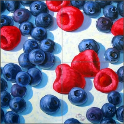 The Blues by Beaman Cole Ceramic Tile Mural - BCA029