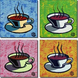 Coffee Accents by Beaman Cole Ceramic Accent & Decor Tiles - BCAATSet1
