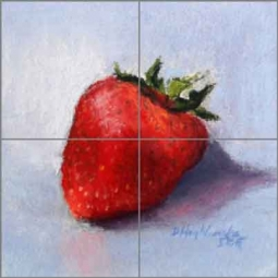 Berry Tiny by Diane Hughbanks Ceramic Tile Mural - DHA042