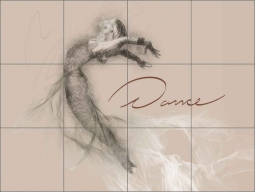 Dance by David Miller Ceramic Tile Mural - DMA2042