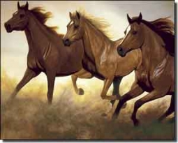 "Ryan Horse Equine Ceramic Accent Tile 10"" x 8"" - EWH-LMR002AT"