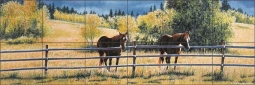 Patience by Liz Mitten Ryan Ceramic Tile Mural EWH-LMR007