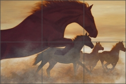 Freedom by Liz Mitten Ryan Ceramic Tile Mural - EWH-LMR008