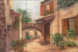 Southern Exposure II by Francesca Martinelli Ceramic Tile Mural - FMA002