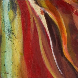 Abstract 1 by Ginger Cook Ceramic Accent & Decor Tile - GCS067AT