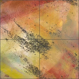 Abstract 7 by Ginger Cook Ceramic Tile Mural - GCS073