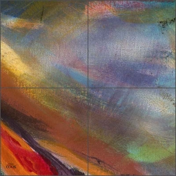 Abstract 8 by Ginger Cook Ceramic Tile Mural - GCS074