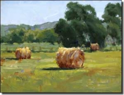 "Crowe Country Landscape Ceramic Accent Tile 8"" x 6"" - JAC060AT"