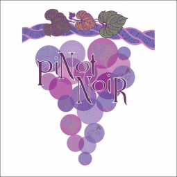 Pinot Noir by Joan Chamberlain Ceramic Accent & Decor Tile - JC5-005AT