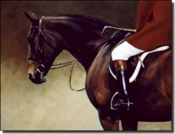 "Crawford Equine Horse Art Ceramic Accent Tile 8"" x 6"" - JCA007AT"