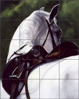 Hindsight by Janet Crawford Ceramic Tile Mural - JCA010