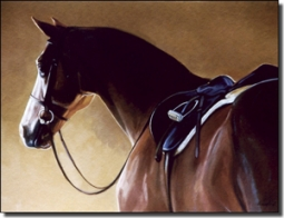 "Crawford Equine Horse Ceramic Accent Tile 8"" x 6"" - JCA017AT"