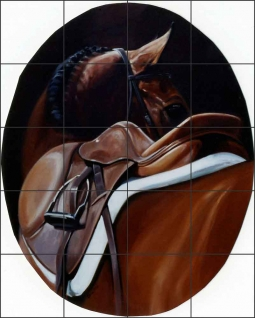 Point of View by Janet Crawford Ceramic Tile Mural - JCA018