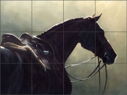 Silhouette by Janet Crawford Ceramic Tile Mural - JCA020