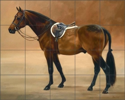 The Saddled Bay by Janet Crawford Ceramic Tile Mural - JCA028