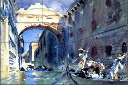 Bridge of Sighs by John Singer Sargent Ceramic Tile Mural - JSS001