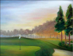 Lee Reynolds Plantation Golf Course Ceramic Accent & Decor Tile - KLA021AT