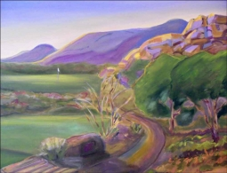Golf - The Boulders, AZ by Karen J. Lee Ceramic Accent & Decor Tile - KLA022AT