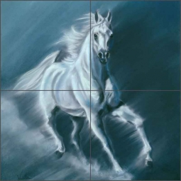 Windwalker by Kim McElroy Ceramic Tile Mural - KMA031