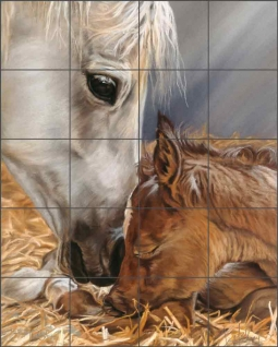 The Gift by Kim McElroy Ceramic Tile Mural KMA041