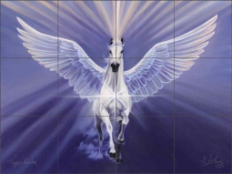 Flight to Freedom by Kim McElroy Ceramic Tile Mural KMA064