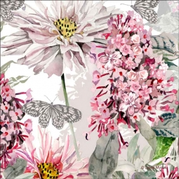 Summer Meadow by Laura Mysak Ceramic Accent & Decor Tile - LM2-004AT