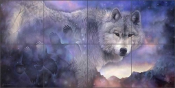The Path to Healing by Leslie Macon Ceramic Tile Mural LMA005