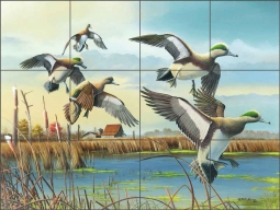 Coming Home by Mike Brown Ceramic Tile Mural - MBA003