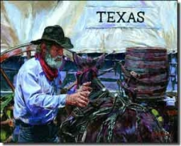"Mirkovich Western Rodeo Ceramic Accent Tile 10"" x 8"" - NMA101AT"