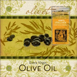 Olivet by Evelia Ceramic Accent & Decor Tile OB-ES55AT