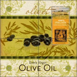 Olivet by Evelia Ceramic Tile Mural OB-ES55