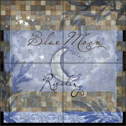 Blue Moon by Evelia Ceramic Tile Mural OB-ES70