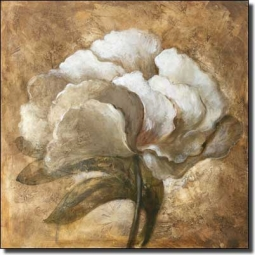 Tawney Peony by Wilder Rich Ceramic Accent & Decor Tile