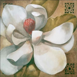 Second Magnolia by Wilder Rich Ceramic Accent & Decor Tile OB-WR1290AT