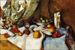 Still Life with Apples II by Paul Cezanne Ceramic Tile Mural - PC008