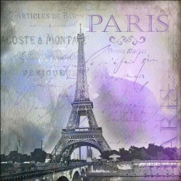 Paris by Andrea Haase Ceramic Accent & Decor Tile POV-AH002AT