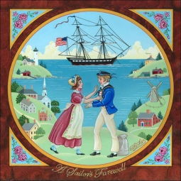 A Sailor's Farewell by Ed Parker Ceramic Accent & Decor Tile - EP004AT