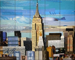 A Stand Out by Jim Nonas Ceramic Tile Mural POV-JN020