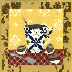 Coffee II by Ramona Jan Ceramic Accent & Decor Tile POV-RJA010AT