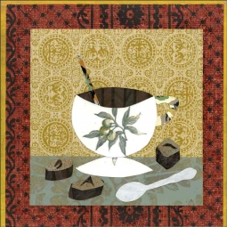 Coffee III by Ramona Jan Ceramic Accent & Decor Tile POV-RJA011AT