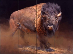 Standing Guard by Edward Aldrich Ceramic Tile Mural - RW-EA014