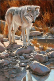 Something of Interest by Edward Aldrich Ceramic Tile Mural - RW-EA022