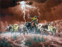 Thundering Hooves and Rattling Horns by Jack Sorenson RW-JS062