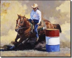 "Chapman Cowboy Rodeo Ceramic Accent Tile 10"" x 8"" - RW-JTC012AT"