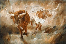 Freedom by Kathy Winkler Ceramic Tile Mural - RW-KW010